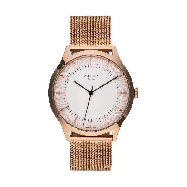 Relógio CAUNY Ânima Ouro Rosa CAN007