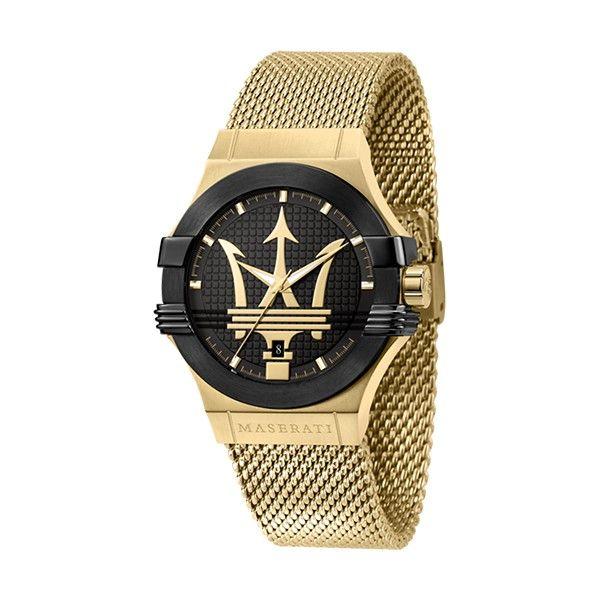 Relógio MASERATI Potenza Dourado R8853108006