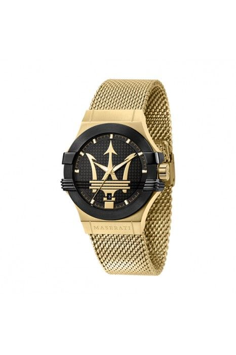 Relógio MASERATI Potenza Dourado