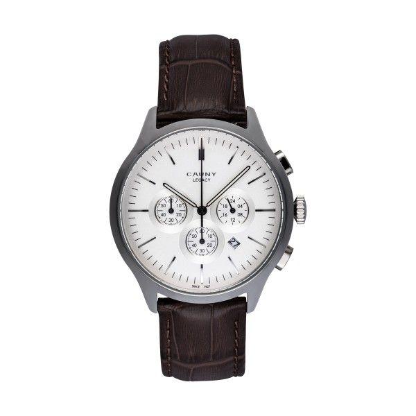 Relógio CAUNY Legacy Castanho CLG003