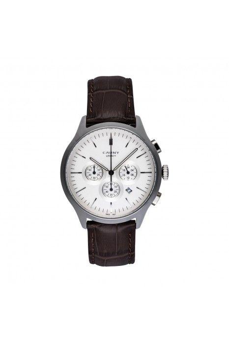 Relógio CAUNY Legacy Castanho