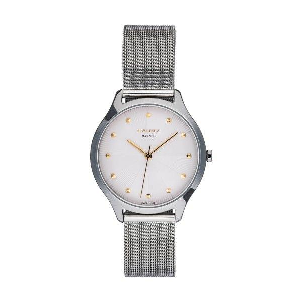 Relógio CAUNY Majestic Paterns Prateado CMJ001