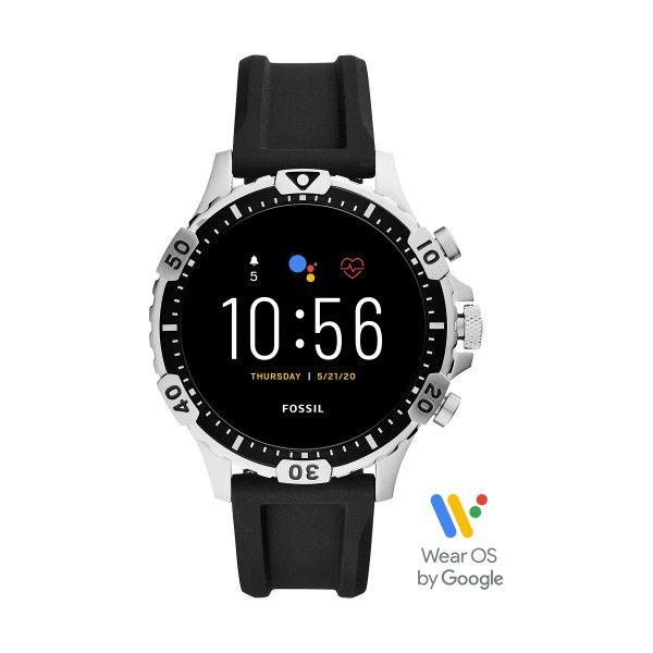 Relógio FOSSIL Q Garrett Hr Smartwatch Preto FTW4041