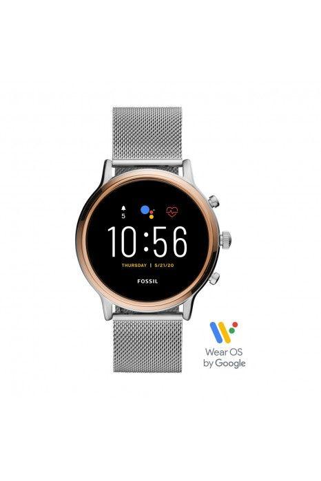 Relógio FOSSIL Q Julianna Hr Smartwatch Prateado