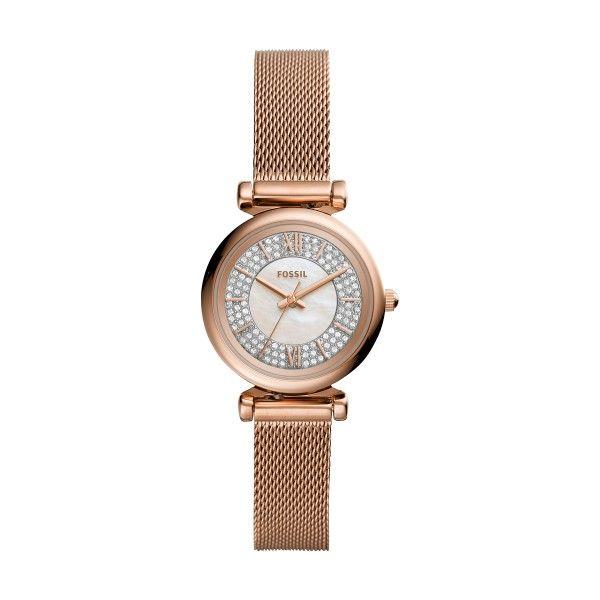 Relógio FOSSIL Carlie Mini Ouro Rosa ES4836