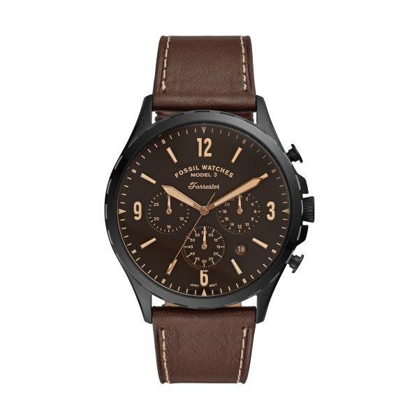 Relógio FOSSIL Forrester Chrono Castanho FS5608