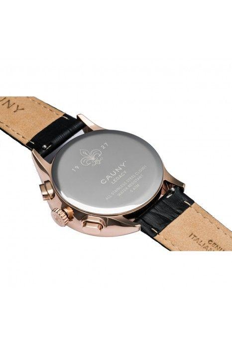 Relógio CAUNY Legacy Preto