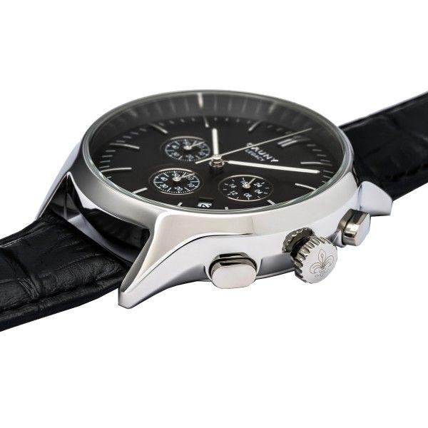 Relógio CAUNY Legacy Preto CLG004