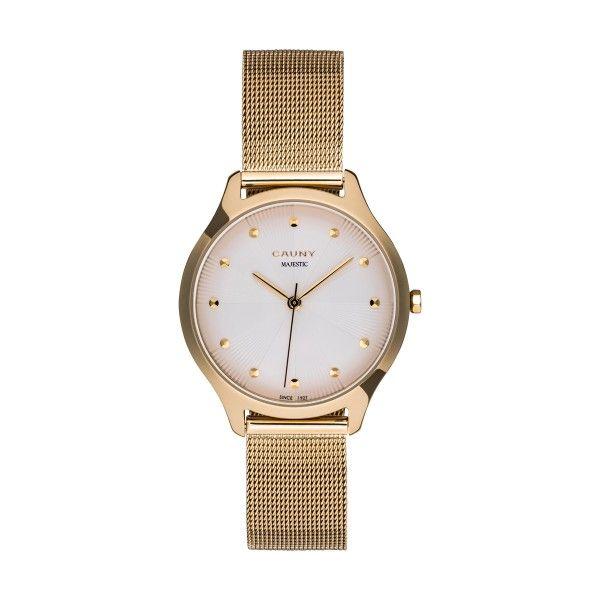 Relógio CAUNY Majestic Paterns Dourado CMJ003