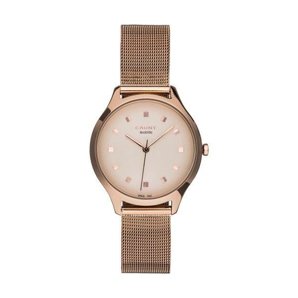 Relógio CAUNY Majestic Ouro Rosa CMJ013
