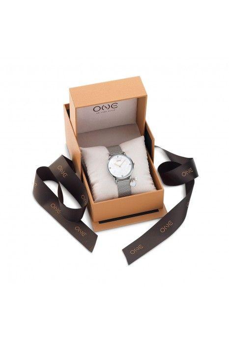 Relógio ONE My Mummy And I Prateado 2020 - Dia da Mãe