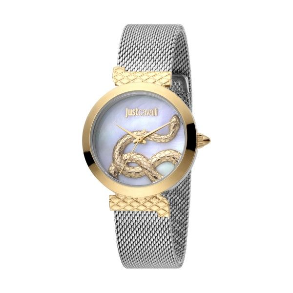 Relógio JUST CAVALLI TIME Snake Set Bicolor JC1L091M0085