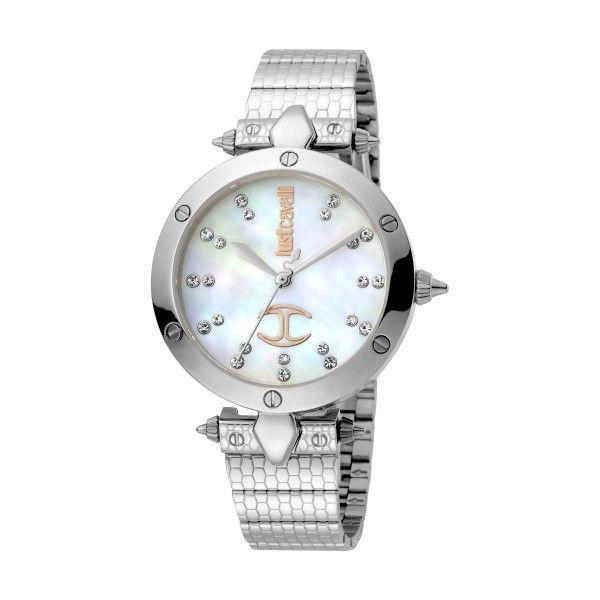Relógio JUST CAVALLI TIME JC Logo Prateado JC1L122M0055