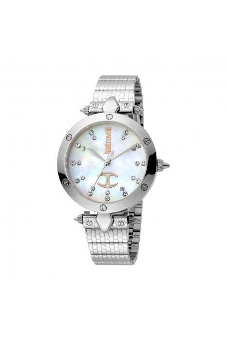 Relógio JUST CAVALLI TIME JC Logo Prateado