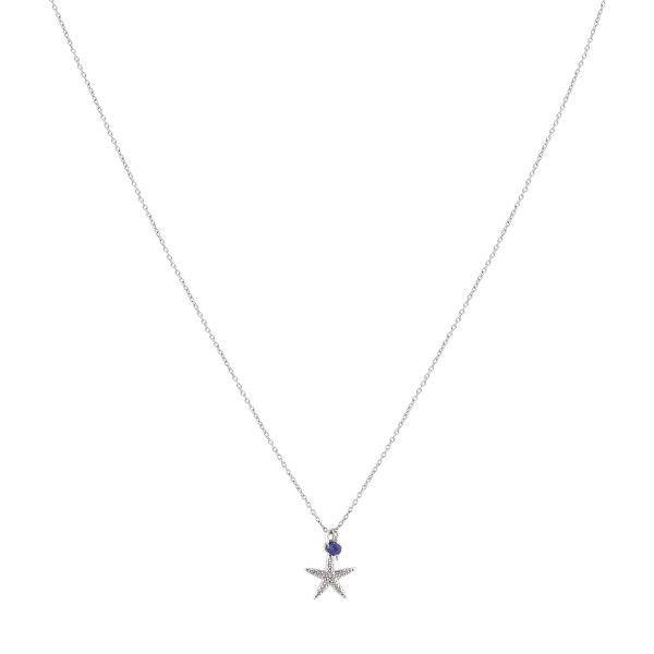 COLAR UNIKE FUN S20 STAR SILVER UK.CL.0117.0121