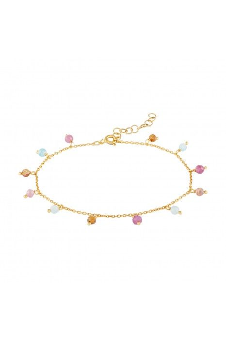 PULSEIRA UNIKE FUN S20 BEADS PINK GOLD