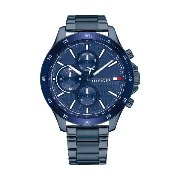 Relógio TOMMY HILFIGER Bank Azul 1791720