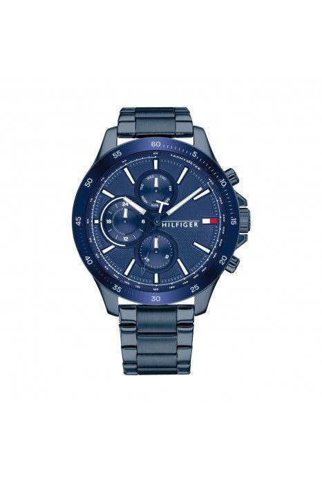 Relógio TOMMY HILFIGER Bank Azul