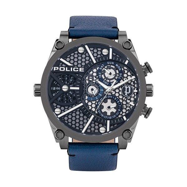 Relógio POLICE Vigor Azul P15381JSU61B