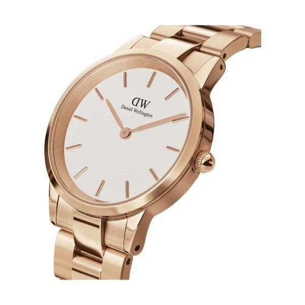 Relógio DANIEL WELLINGTON Iconic Link Ouro Rosa DW00100211