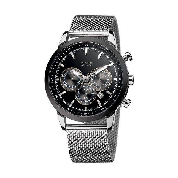 Relógio ONE Touch II Preateado OG8729PS01L