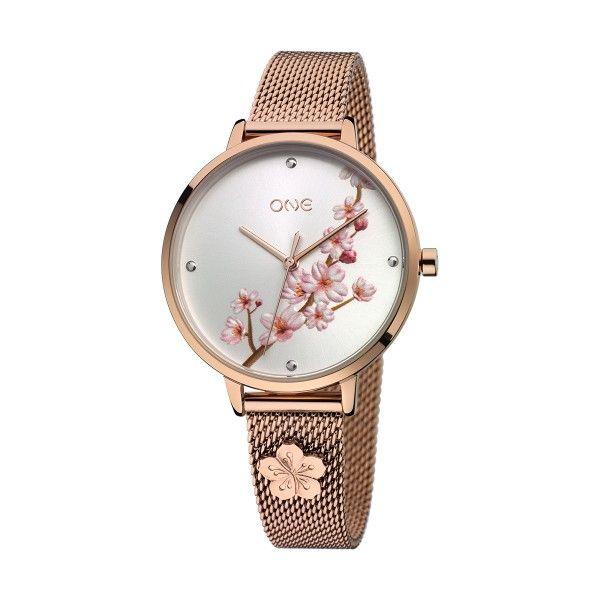 Relógio ONE Tokyo Ouro Rosa OL1076RR02S