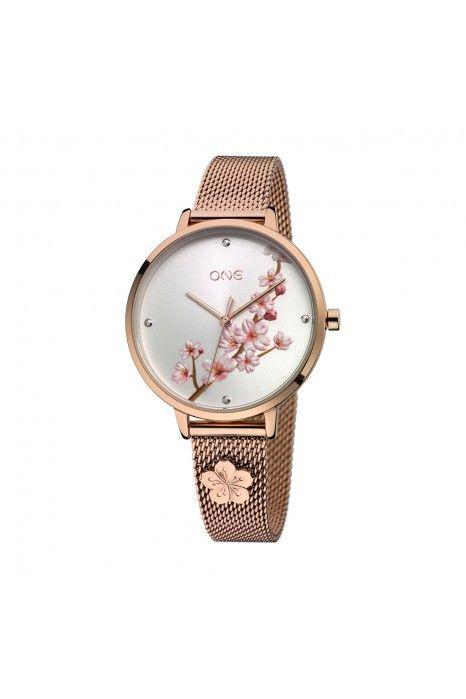 Relógio ONE Tokyo Ouro Rosa