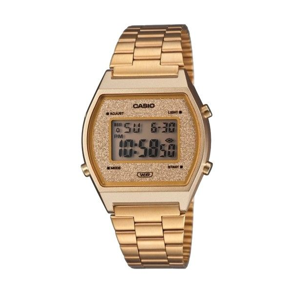 Relógio Casio Vintage Edgy Dourado B640WGG-9EF