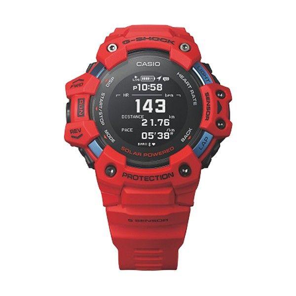 Relógio CASIO G-SHOCK G-Squad Vermelho GBD-H1000-4ER