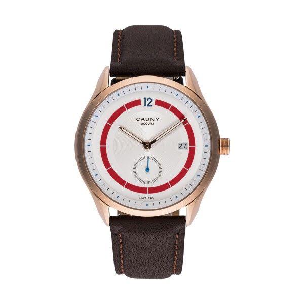 Relógio CAUNY Accura Calendar Castanho CAC006