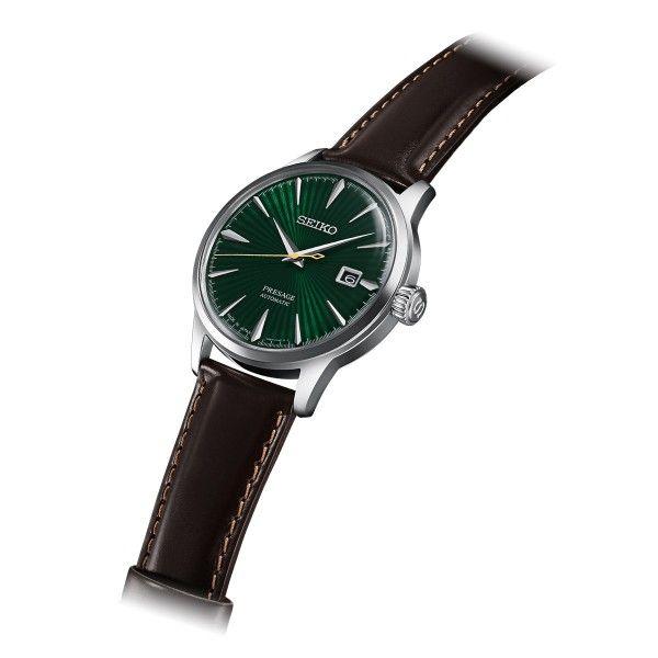 Relógio SEIKO Presage Castanho SRPD37J1