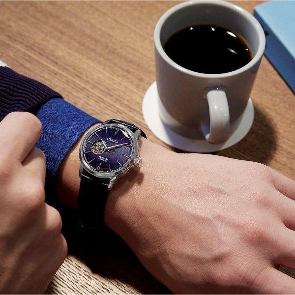 Relógio SEIKO Presage Cocktail Azul SSA405J1