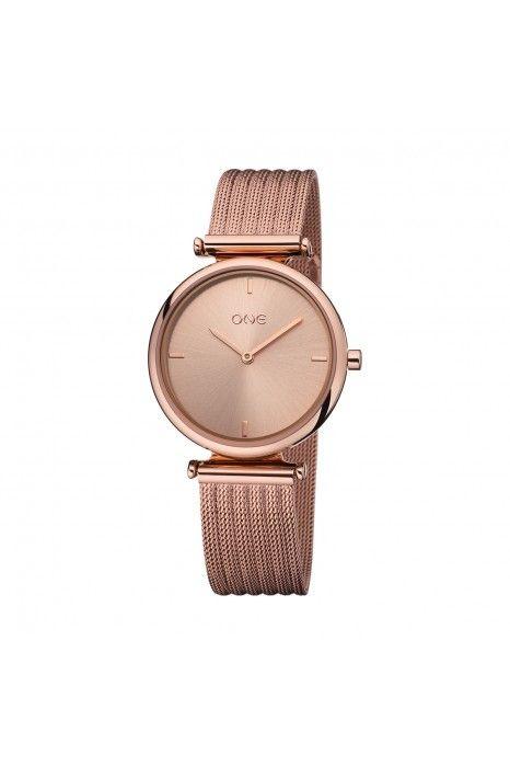 Relógio ONE Privilege Ouro Rosa