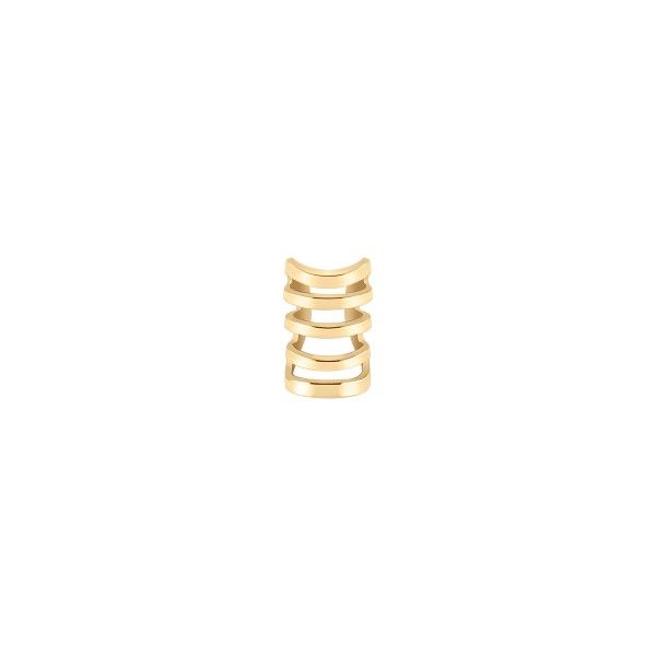 BRINCO UNIKE MIX & MATCH EAR CUFF 5 LINES GOLD UK.BR.0117.0031