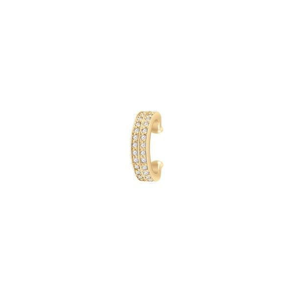 BRINCO UNIKE MIX & MATCH EAR CUFF SHINNY I GOLD UK.BR.0117.0029