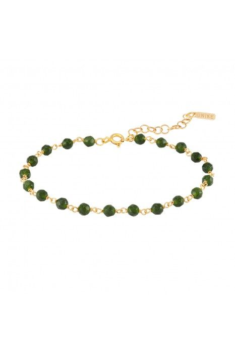 PULSEIRA UNIKE FUN W20 BEADS GREEN GOLD
