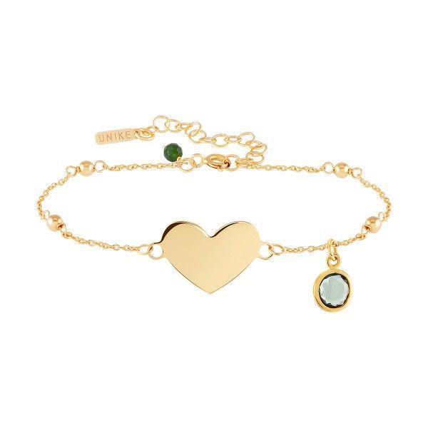 PULSEIRA UNIKE FUN W20 HEART GOLD UK.PU.0117.0122