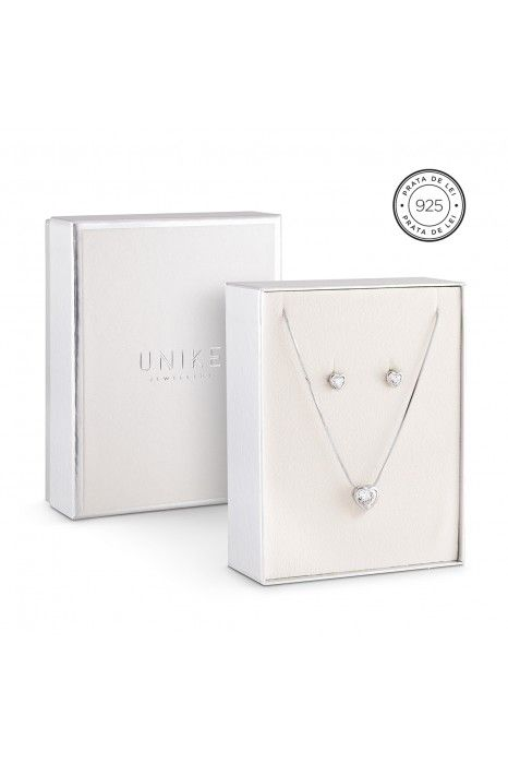PACK UNIKE JEWELLERY HEARTS