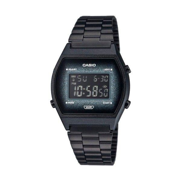 Relógio Casio Vintage Edgy Preto B640WBG-1BEF