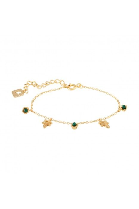 PULSEIRA LUCKY ELEPHANT NATURE COLLECTION - GREEN FLOWER