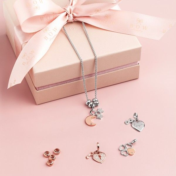 CHARM BOW HAPPY LOVE STORIES CLOVER BH.CH.1110.0011