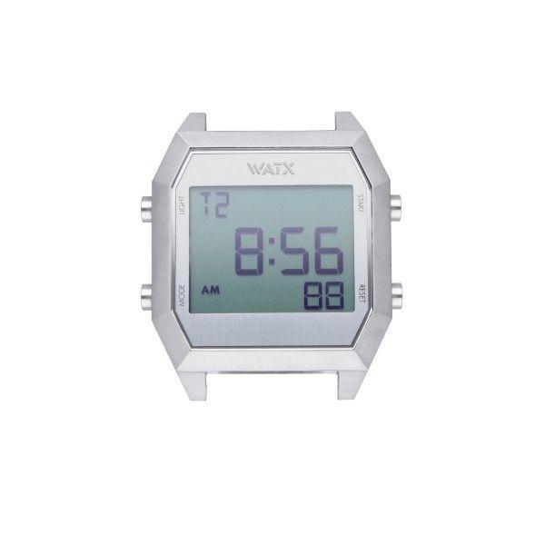 CAIXA WATX DIGITAL PRATEADO 40MM WXCA4000