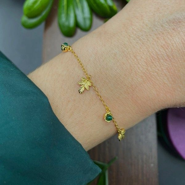 PULSEIRA LUCKY ELEPHANT NATURE COLLECTION - GREEN FLOWER LE.PU.1113.0001