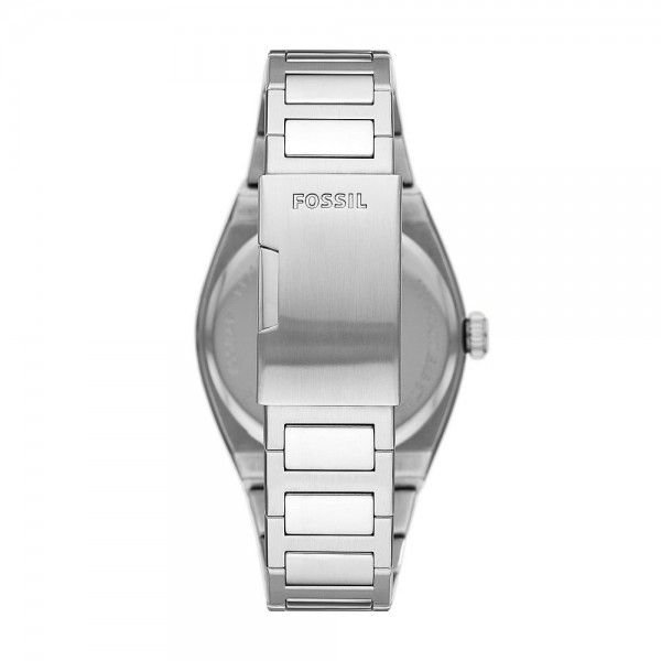RELÓGIO FOSSIL EVERETT 3 HAND PRATEADO FS5821