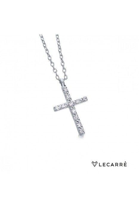 Colar LECARRÉ ouro 18k diamante 0,06 Q.HSI
