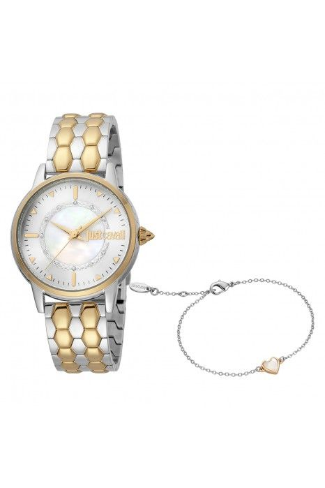 Relógio Just Cavalli Valentines Bicolor