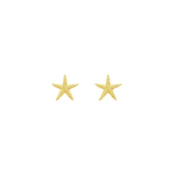 BRINCOS UNIKE FUN S21 STAR GOLD UK.BR.0117.0039