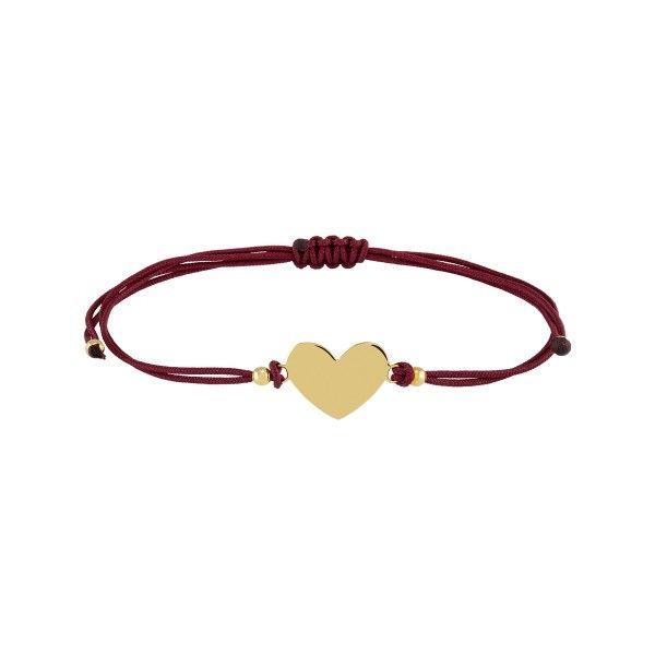 PULSEIRA UNIKE FUN S21 BURGUNDY HEART GOLD UK.PU.0117.0128