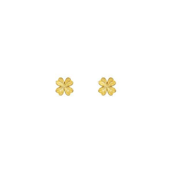 BRINCOS UNIKE FUN S21 CLOVER GOLD UK.BR.0117.0040