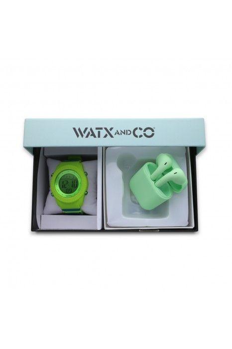 CAIXA WATX SMART GREEN 43MM